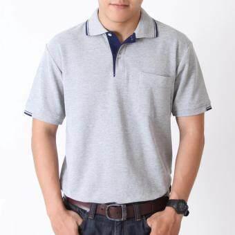 POLOMAKER เสื้อโปโล KanekoTK PC067 สีเทานวล (Male)