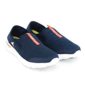POWER รองเท้าผู้ชายผ้าใบ สำหรับเดิน POWER-MEN WALKING สีน้ำเงิน รหัส 8489114