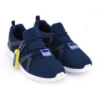 POWER รองเท้าผู้ชายผ้าใบ สำหรับเดิน POWER-MEN WALKING สีน้ำเงินเข้ม รหัส 8489352