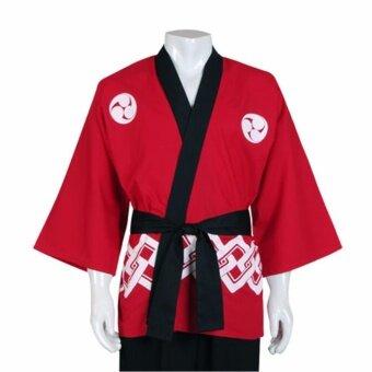 Princess of Asia เสื้อญี่ปุ่นฮับบิ เสื้อแฟนซี - สีแดง
