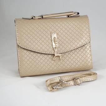 เปรียบเทียบราคา กระเป๋าถือกวางน้อย สีทอง