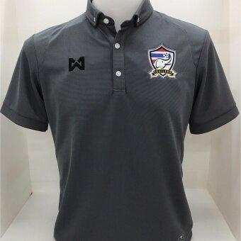 เสื้อโปโล ทีมชาติไทยสีเทา