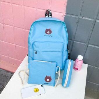 เกาหลีใหม่กระเป๋าถือกระเป๋าสะพายไหล่ (สีฟ้า)