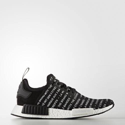 สอนใช้งาน  กระบี่ รองเท้า Adidas Originals NMD R1 Japan Limited Edition Core Blackout
