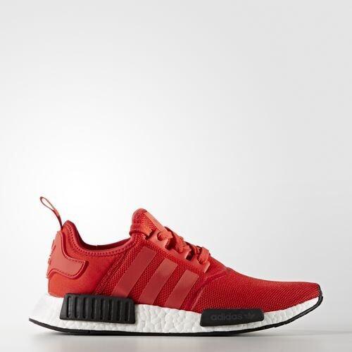 ยี่ห้อนี้ดีไหม  กาฬสินธุ์ รองเท้า Adidas Originals NMD R1 สีแดง (Color Red/Red/ White)