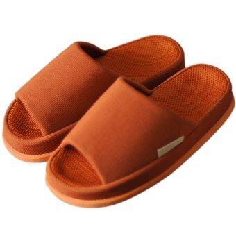 รองเท้าใส่ในบ้าน รุ่น รองเท้านวด (สีอิฐ)