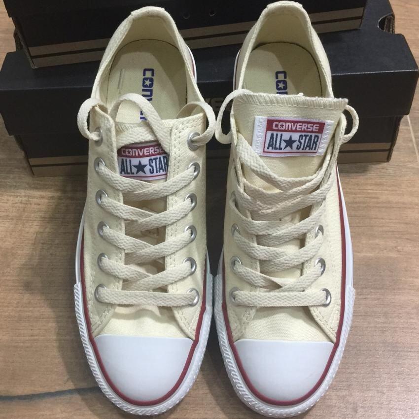 ยี่ห้อไหนดี  กาฬสินธุ์ รองเท้าConverse Chuck Taylor All Star Classic สีขาวขุ่น Natural White