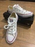 สอนใช้งาน  กระบี่ รองเท้าเด็กโต Converse Chuck Taylor All Star Classic สีขาว Optical White