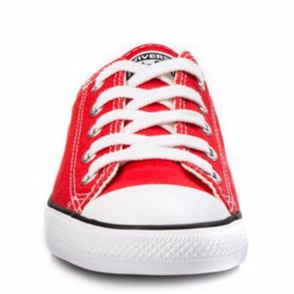 การใช้งาน  กำแพงเพชร รองเท้าลำลองผู้หญิง CONVERSE All Star Dainty OX 111D100  สีแดง