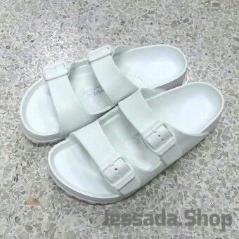 Red Apple รองเท้าแตะสวม เบาสบาย (สีขาว)