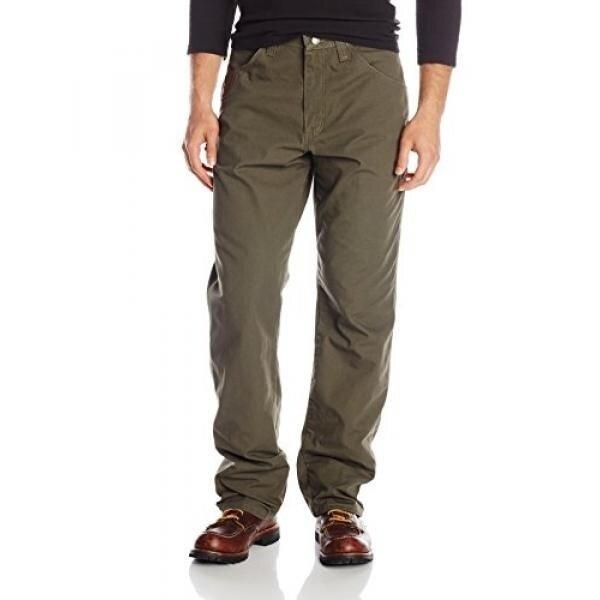 Riggs Workwear By Wrangler Mens Ripstop Carpenter Jean,Loden,32x36 - intl
