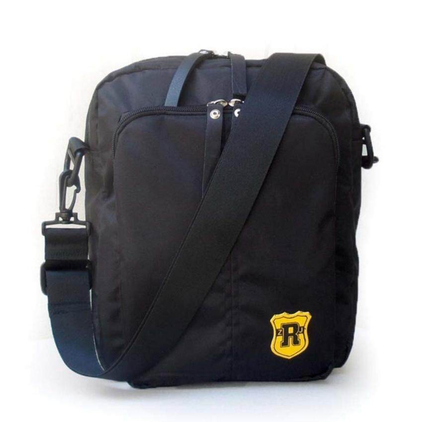 ขาย Ron Homme กระเป๋าสะพายข้างชาย Fashion shoulder bag (Black)