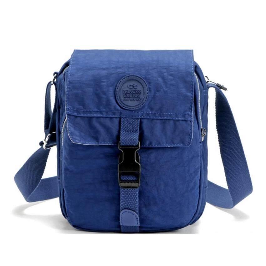 Ron Homme กระเป๋าสะพายพาดลำตัว Men Shoulder Bag (Blue)