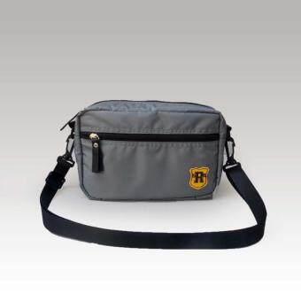 กระเป๋าสะพายข้าง โพลีเอสเตอร์กันนํ้า รุ่น mini bag9 inch (Gray)