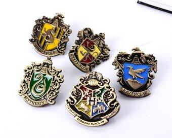 Rorychen Harry Potter College Badge Set Gryffindor Metal LogoStereo Badge - intl
