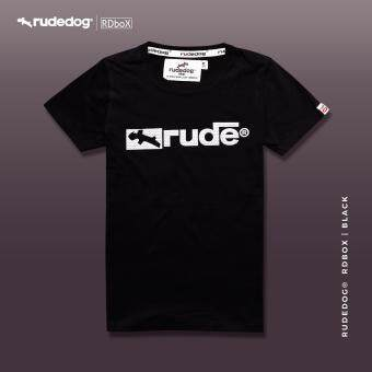 rudedog newbox 1504776361 78374014 df26db591bb6f206d57b3625efe0d708 product ซื้อราคาทุน Rudedog เสื้อยืด ผู้ชาย รุ่น Newbox สีดำ
