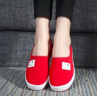 Rushsky Old Beijing shoes casual sneakers sports anti-skid shoes\n-red - intl