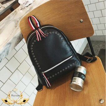 รีวิวพันทิป กระเป๋าสะพายหลัง กระเป๋าเป้ กระเป๋าแฟชั่นผู้หญิง รุ่น No.02238 - Black