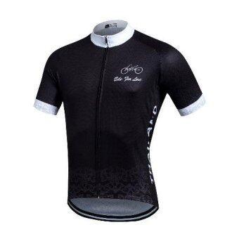 SALE SUPER D เสื้อเดียวขี่จักรยาน bike for love (สีดำ-1)