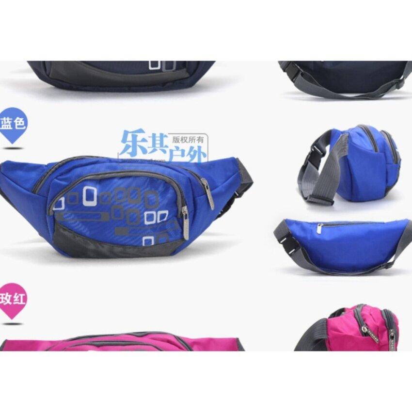 กระเป๋าคาดเอวกันน้ำสำหรับโทรศัพท์และอุปกรณ์ SB201 สีชมพู