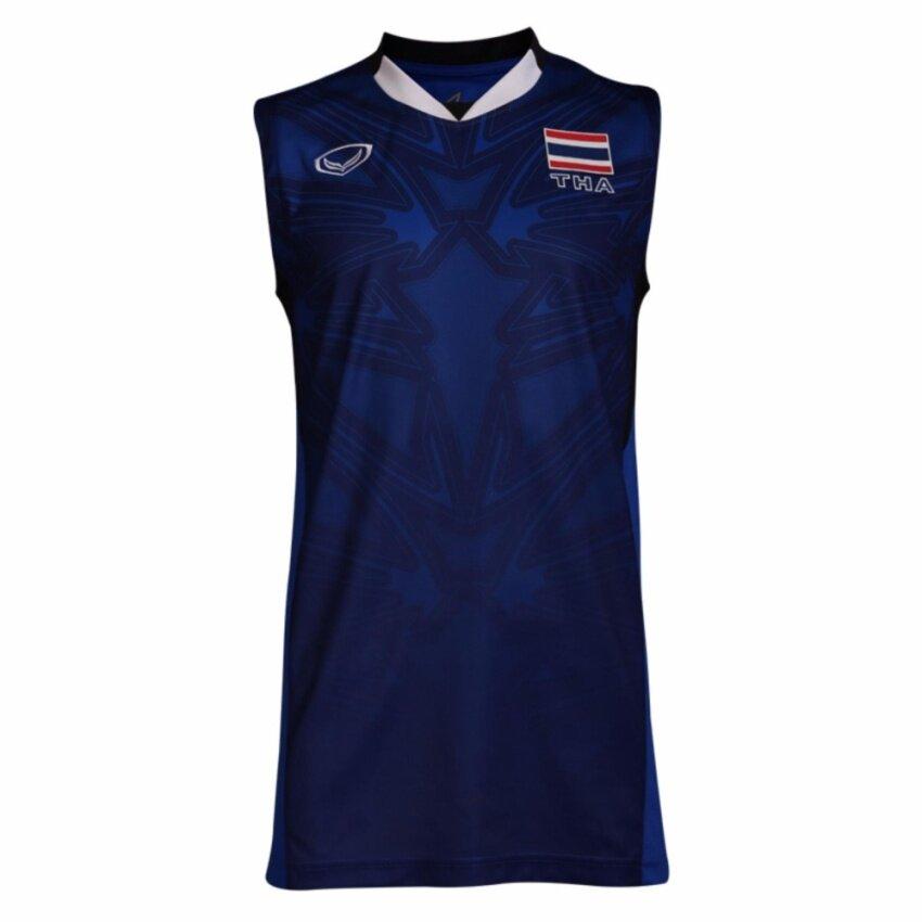 แกรนด์สปอร์ต เสื้อกีฬา แข่งขันวอลเลย์บอลชายทีมชาติไทย Sea Games 2017