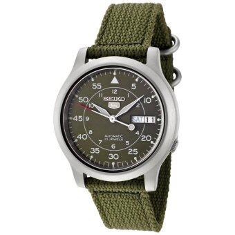 Seiko 5 Military Automatic Men's Watch รุ่น SNK805K2 - Green