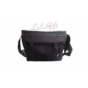 Shoulder Nylon Casual Bag กระเป๋าสะพายไหล่ไนลอน - Black สีดำ