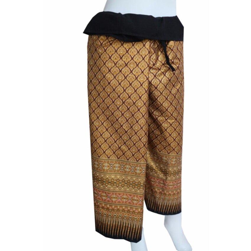 Sita Cotton กางเกงสะดอผ้าโสร่ง