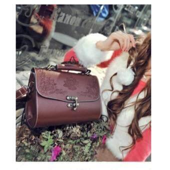 สนใจซื้อ กระเป๋า กระเป๋าสะพาย กระเป๋าสะพายผู้หญิง No.0223(brown)
