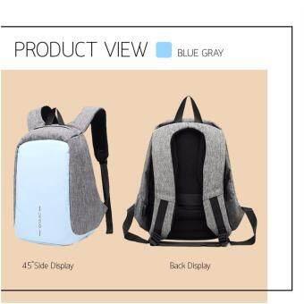 กระเป๋าเป้ กระเป๋าสะพาย ผ้ากันน้ำ Smart Lady Bag (Light Blue)