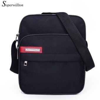 Soperwillton New New Style Hot Sale Casual Men's Bag Oxford Black Messenger Bags High Quality Travel Fashion Male Shoulder Bags #J896 - intl