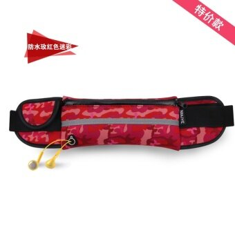 Sports waist Pack male mobile phone Mini personal multifunction outdoor small fitness tide running Waist Bag