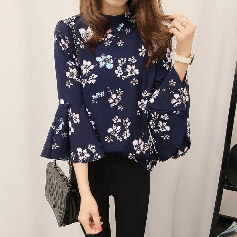 Spring New Style Woman Floral Blouse - intl
