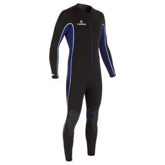 ซื้อ/ขาย ชุดเวทสูทเต็มตัวพร้อมซิปหน้าสำหรับดำน้ำด้วยท่อหายใจ SUBEA 2 มม. สำหรับผู้ชาย