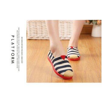 SUN Casual Flat Shoes Slip-ons รองเท้าผู้หญิง รองเท้าแฟชั่น รุ่นH-16 - 5