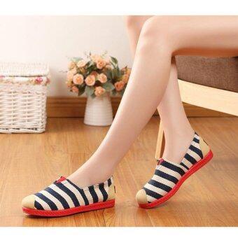SUN Casual Flat Shoes Slip-ons รองเท้าผู้หญิง รองเท้าแฟชั่น รุ่นH-16 - 2