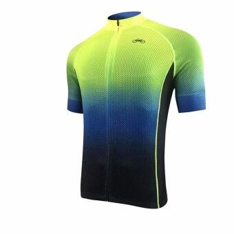 SUPER D SHOP เสื้อเดียวขี่จักรยาน bike for love (สีเขียว)