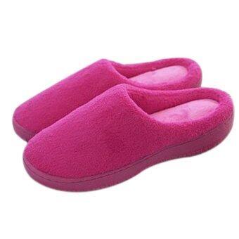 Super Trendy รองเท้าใส่ในบ้าน รุ่น เมมโมรี่โฟม (สีชมพู)