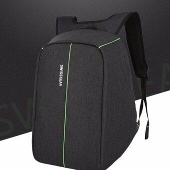 SWISS Anti-Theft กระเป๋าเป้นิรภัยแล็ปท็อป Backpack
