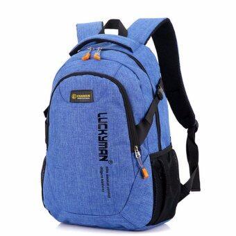 """กระเป๋าเป้สะพายหลังTB สีฟ้า"""""""