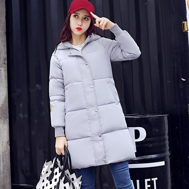 TB Korean embroidery down jacket-Grey - intl