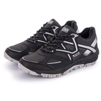 THE TANK รองเท้าวิ่งใหม่ล่าสุด น้ำหนักเบา รุ่น GP5 (สีดำ/ขาว)
