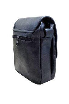 Three Box กระเป๋าสะพายข้างชาย (สีดำ) - 2