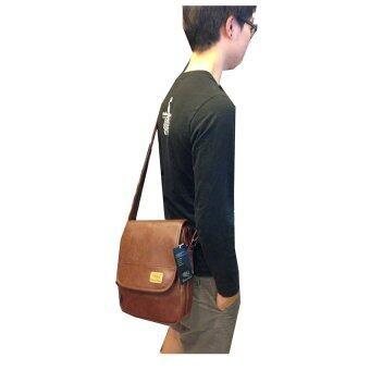 Three Box กระเป๋าสะพายข้างชาย (สีดำ) - 4