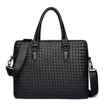Tidog New men's Bag Tote Bag business bag briefcase - intl - 5