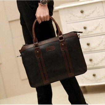 รีวิว Tokyo Boy กระเป๋าสะพายไหล่ผู้ชายหรือถือ รุ่น NE155 (สีดำ)