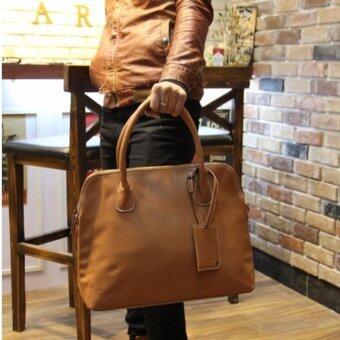 โปรโมชั่นพิเศษ Tokyo Boy กระเป๋าสะพายไหล่ผู้ชาย หรือถือ ใส่note book รุ่น NE26 - Brown