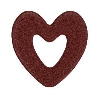 Toprank New Women Fashion Sponge Heart Shape Hair Twist Braid Tool Accessories Hair Ring - intl