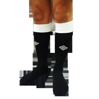 UMBRO ถุงเท้า กีฬา ฟุตบอล อัมโบร Football Sock 8227 BK (180) 1 คู่