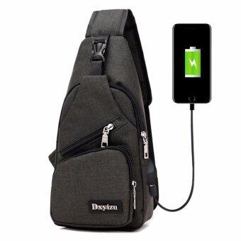 """กันน้ำกีฬากระเป๋าถือ USB Anti-หัวหน้ากระเป๋าสะพายกระเป๋าสะพายหลังแฟชั่นกระเป๋าเดินทาง"""""""
